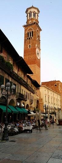 Piazza in Verona - on the bucket list