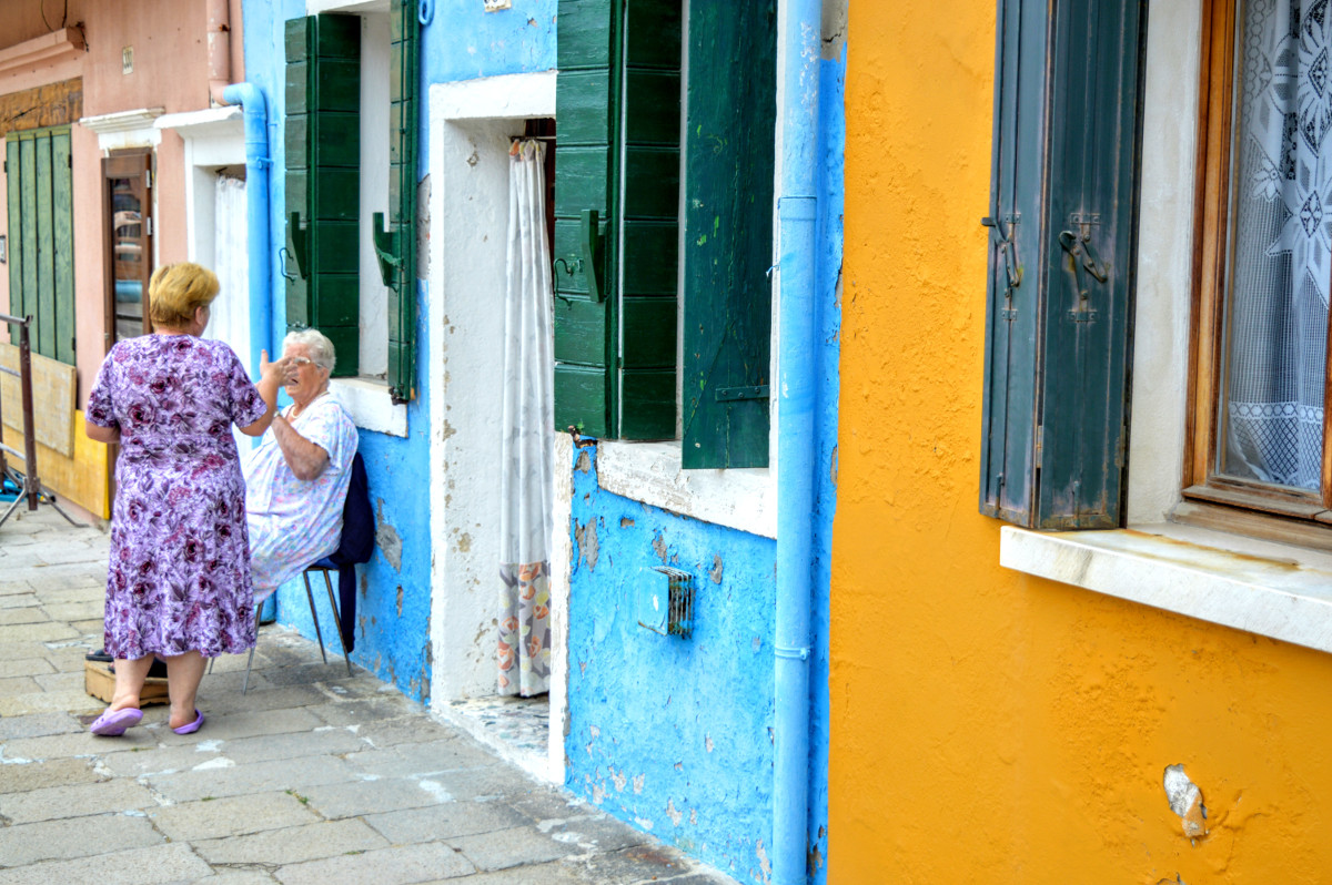 Lacemakers in Burano