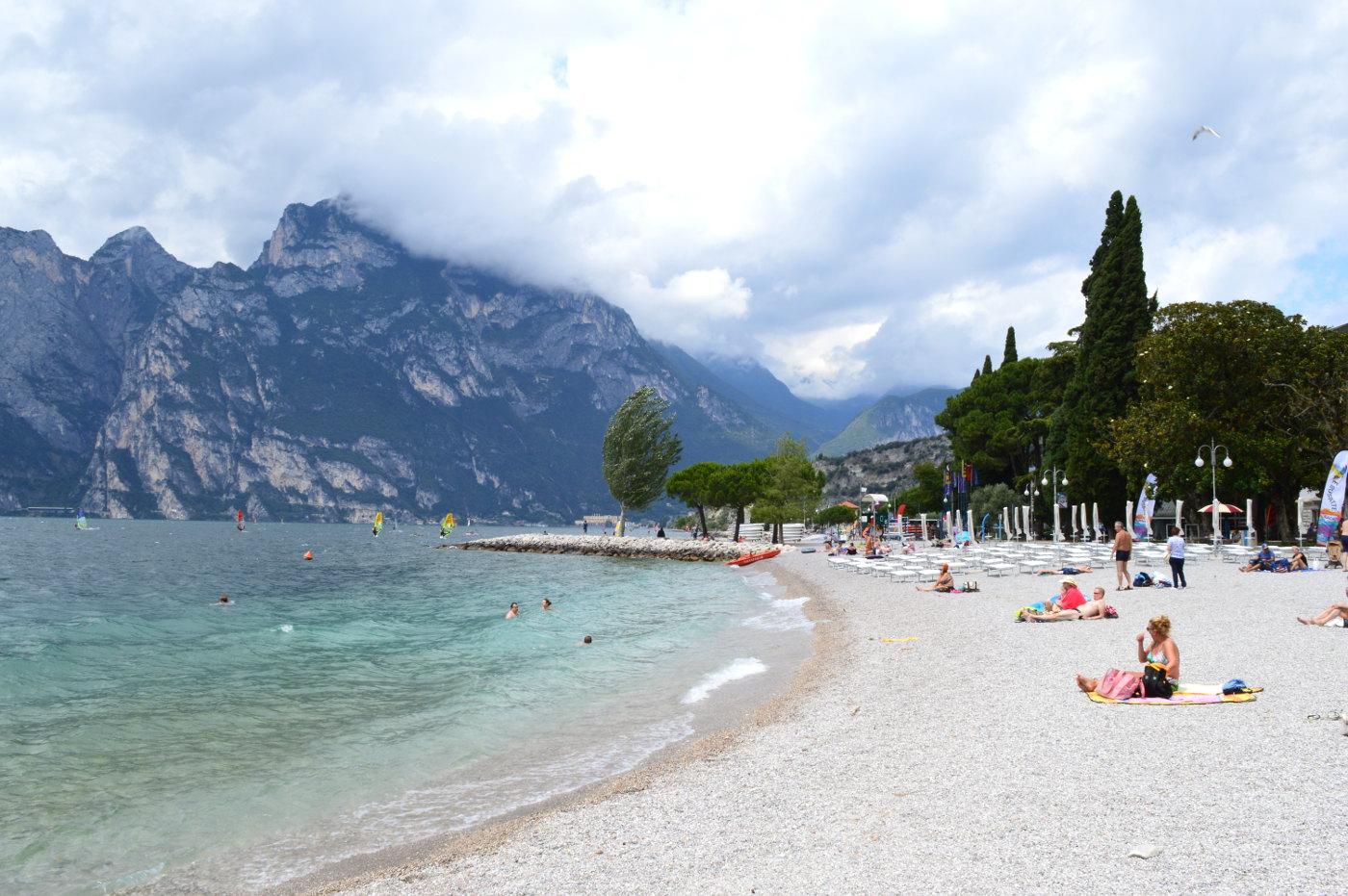 Torbole Beach, Lake Garda