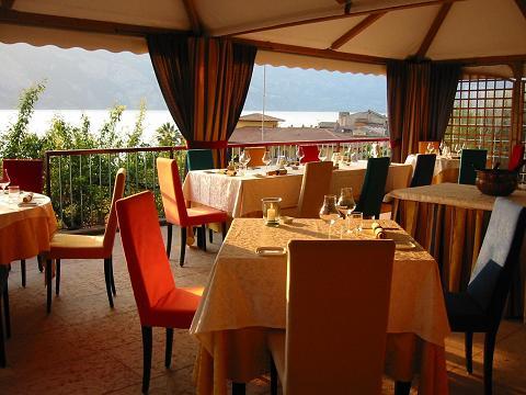Lake Garda Restaurant vecchia Malcesine
