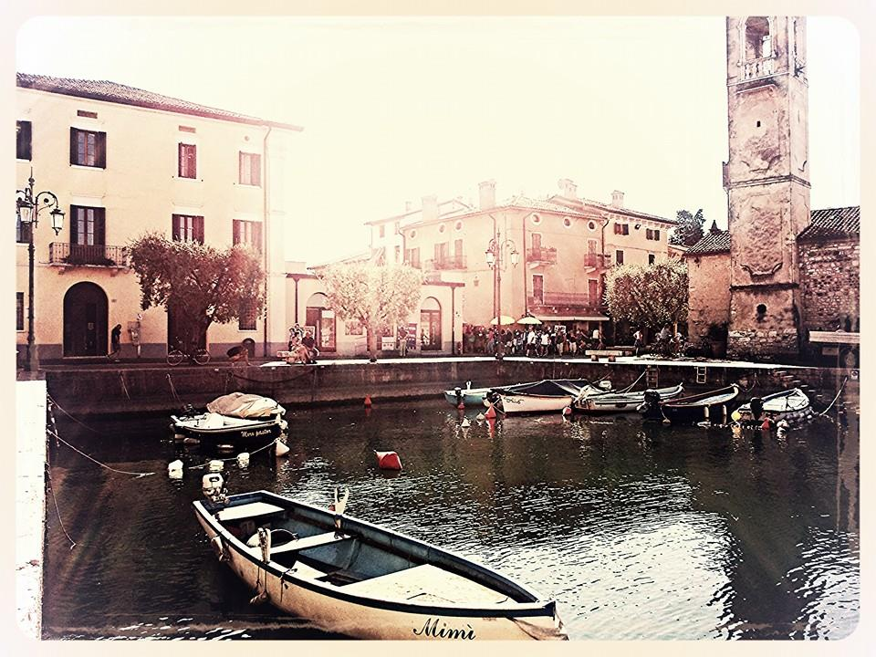 Lazise Old town and harbour