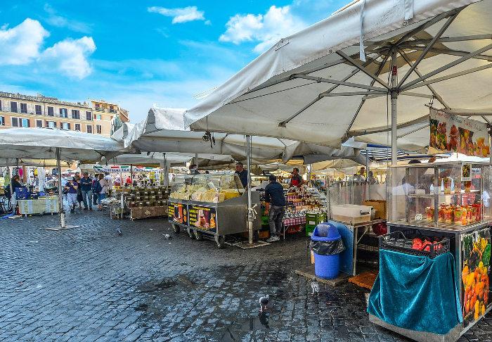 Campo dei Fiori market