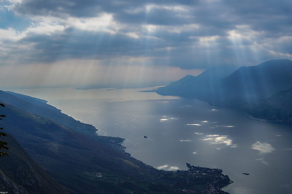 View from Monte Baldo by Anja Harreman Hokke