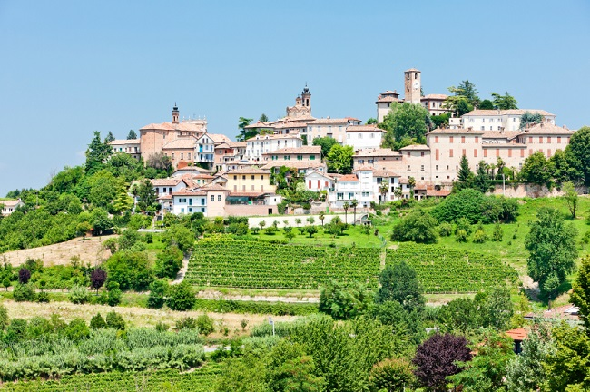 Neive in Piedmont