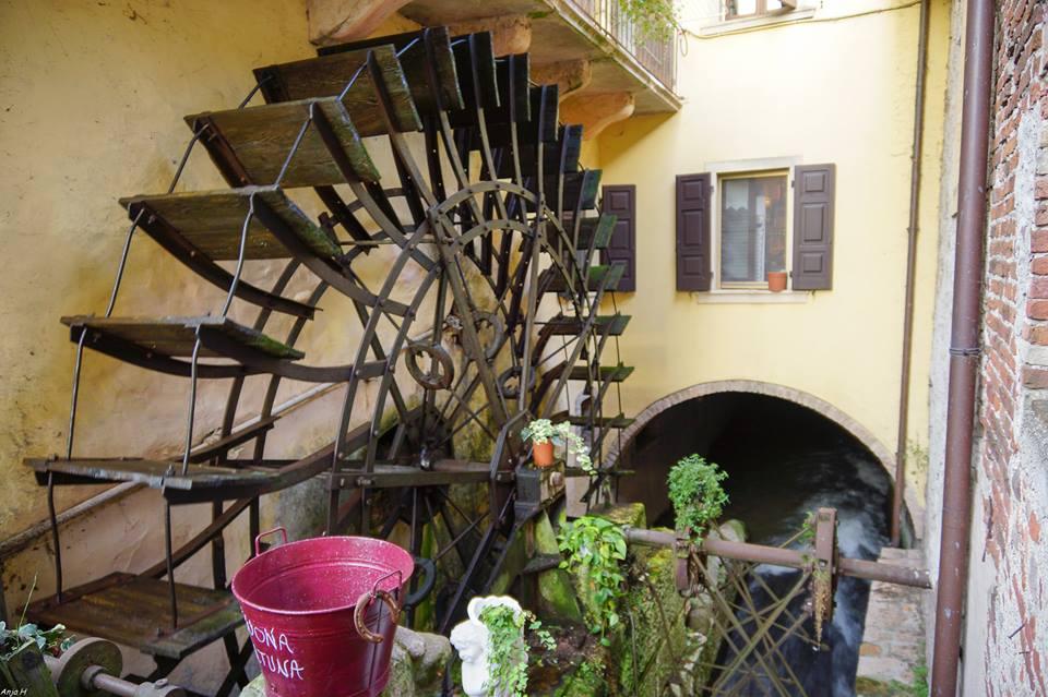 Old Mill in Borghetto