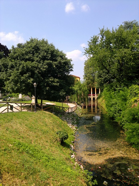 Park in Vicenza Italy