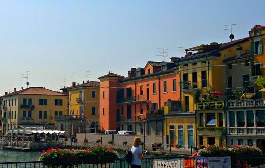 Peschiera on Lake Garda