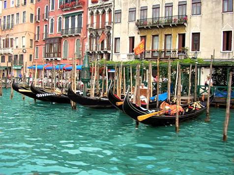 Photo of Venice - Gondolas at Rest