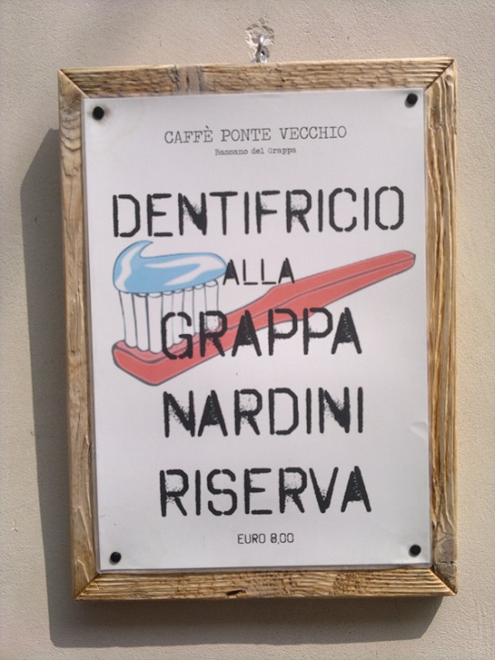 Grappa Toothpaste