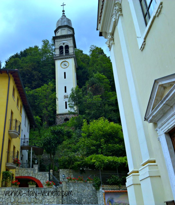 Posina in Veneto Italy