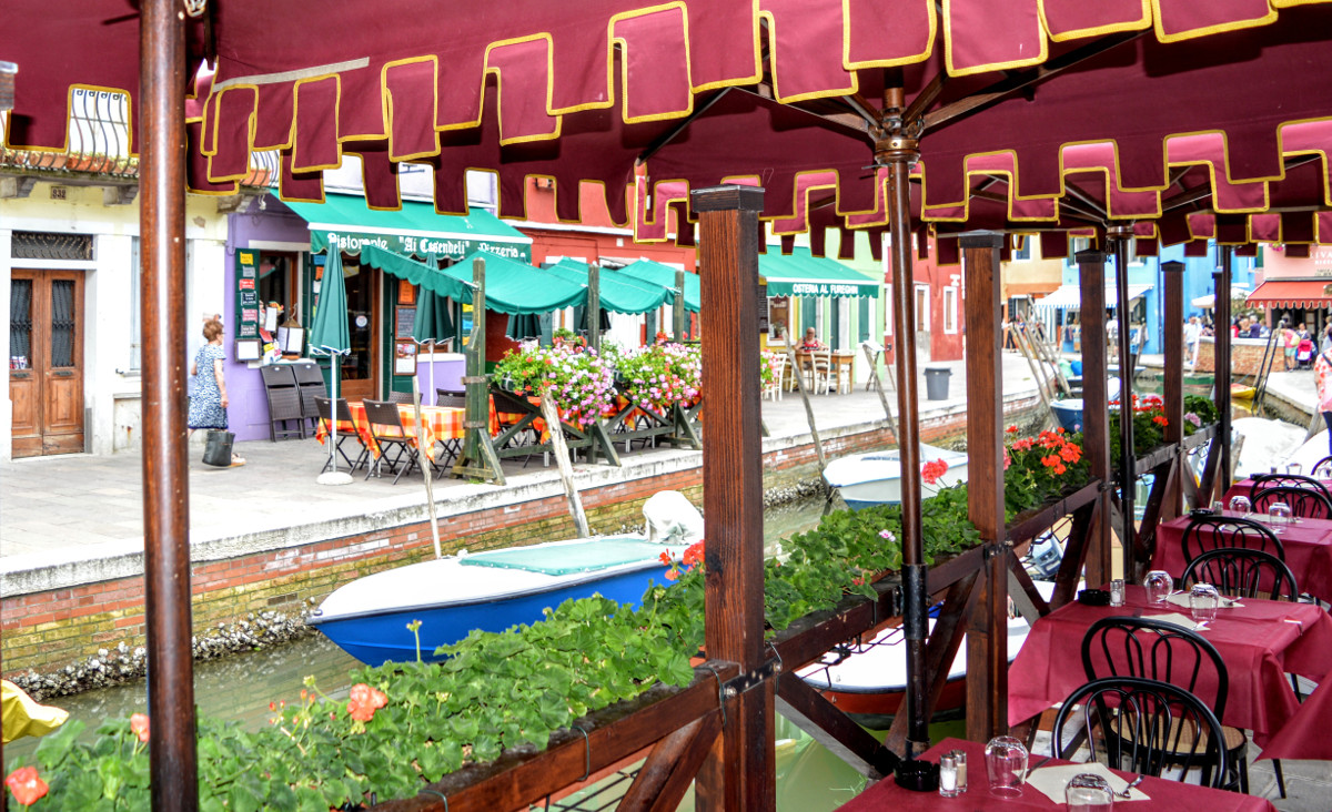 Restaurant in Burano