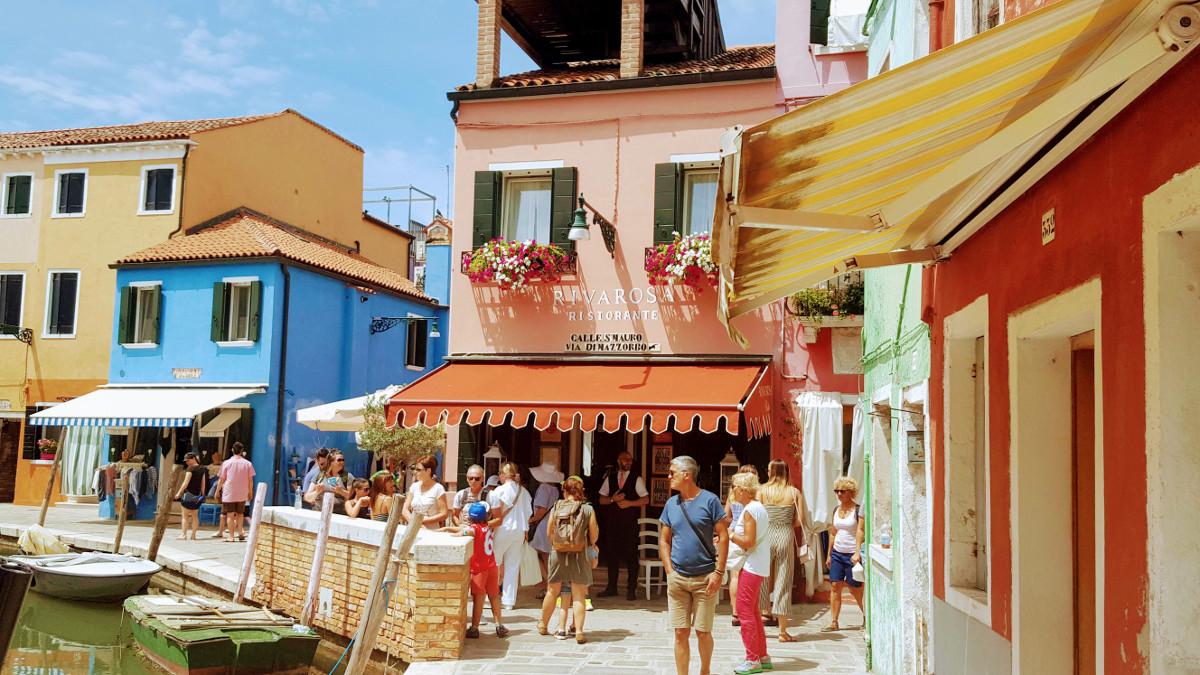 Riva Rosa Restaurant, Burano