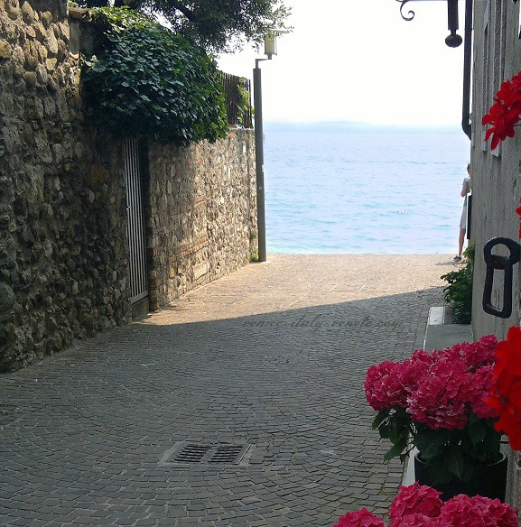 Lane to Lake Garda