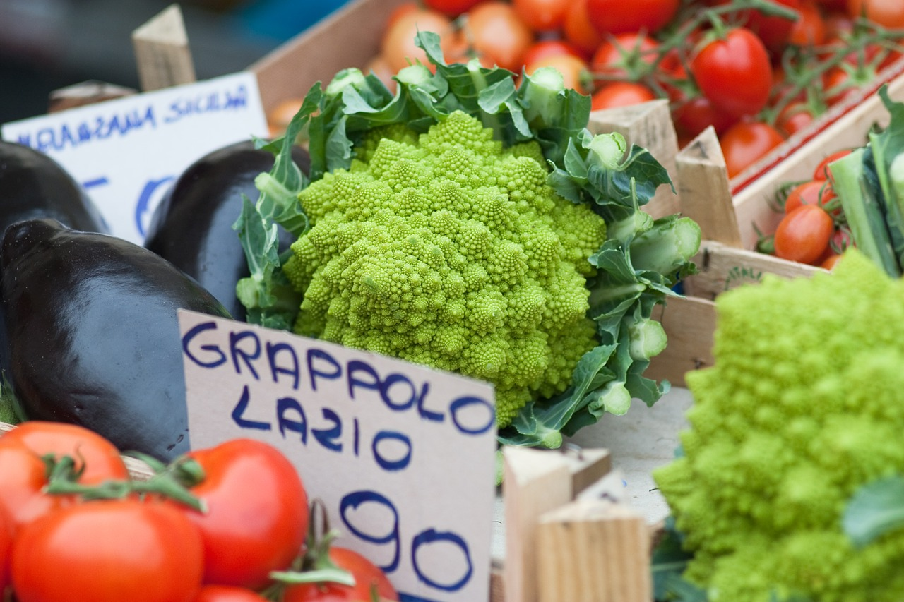 Vegetables in Italy