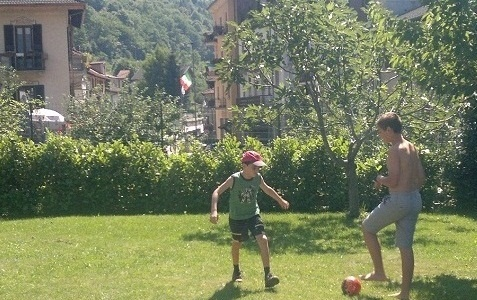 kids soccer in Italy