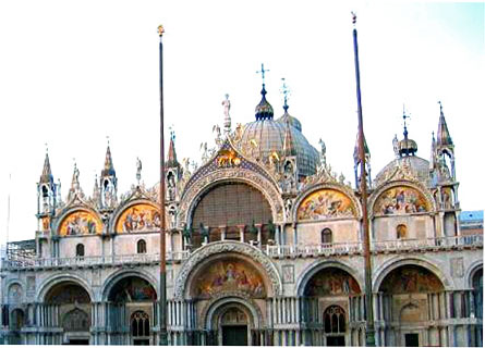 View of San Marco Basilica Venice