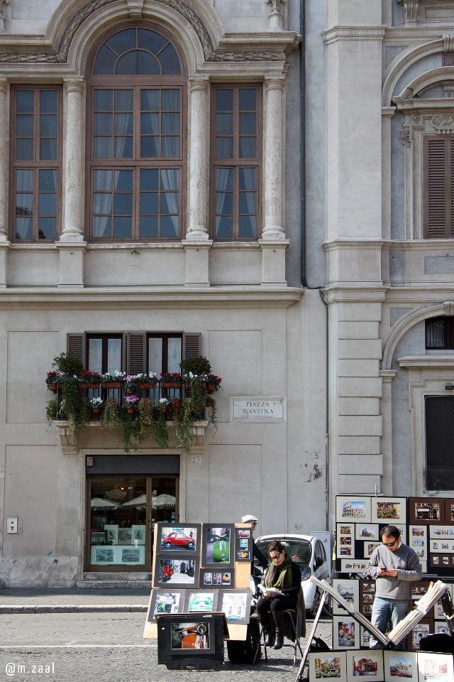 Italy street scene