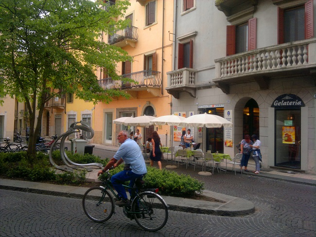 Typical Verona Street Scene