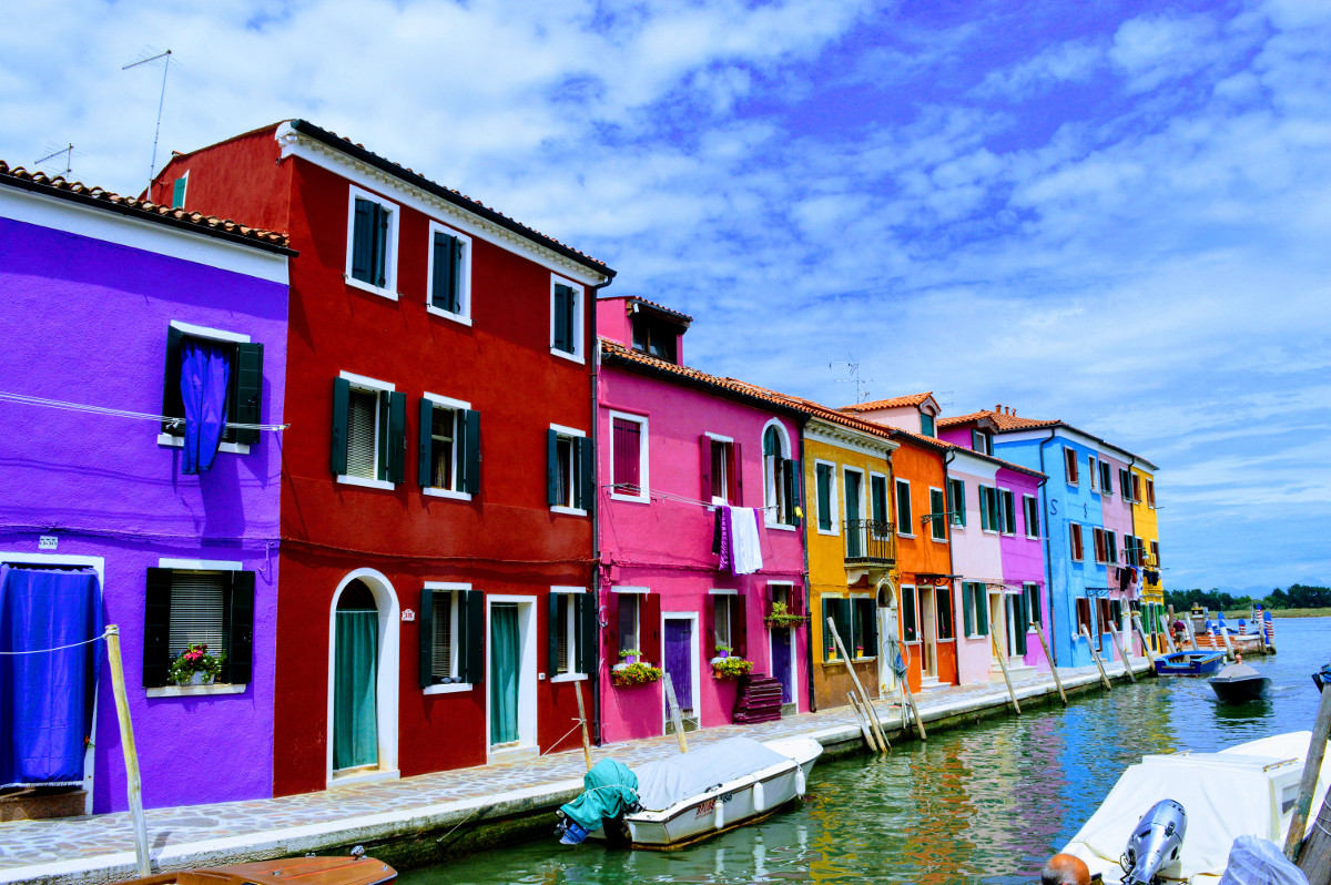 A summer's day in Burano