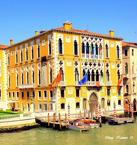 Buildings of Venice Italy