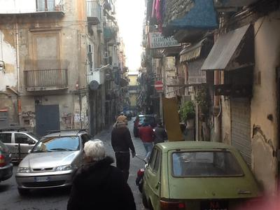 The wonderful streets of Naples - so much fun!