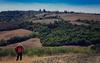 Patrick upon Tuscan Hills