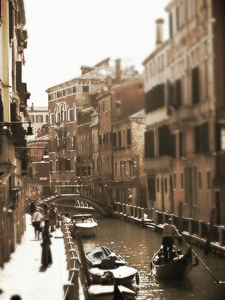 Venice in Sepia
