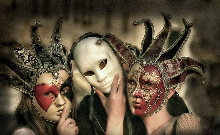 Carnival Masks by Alex Strahilov