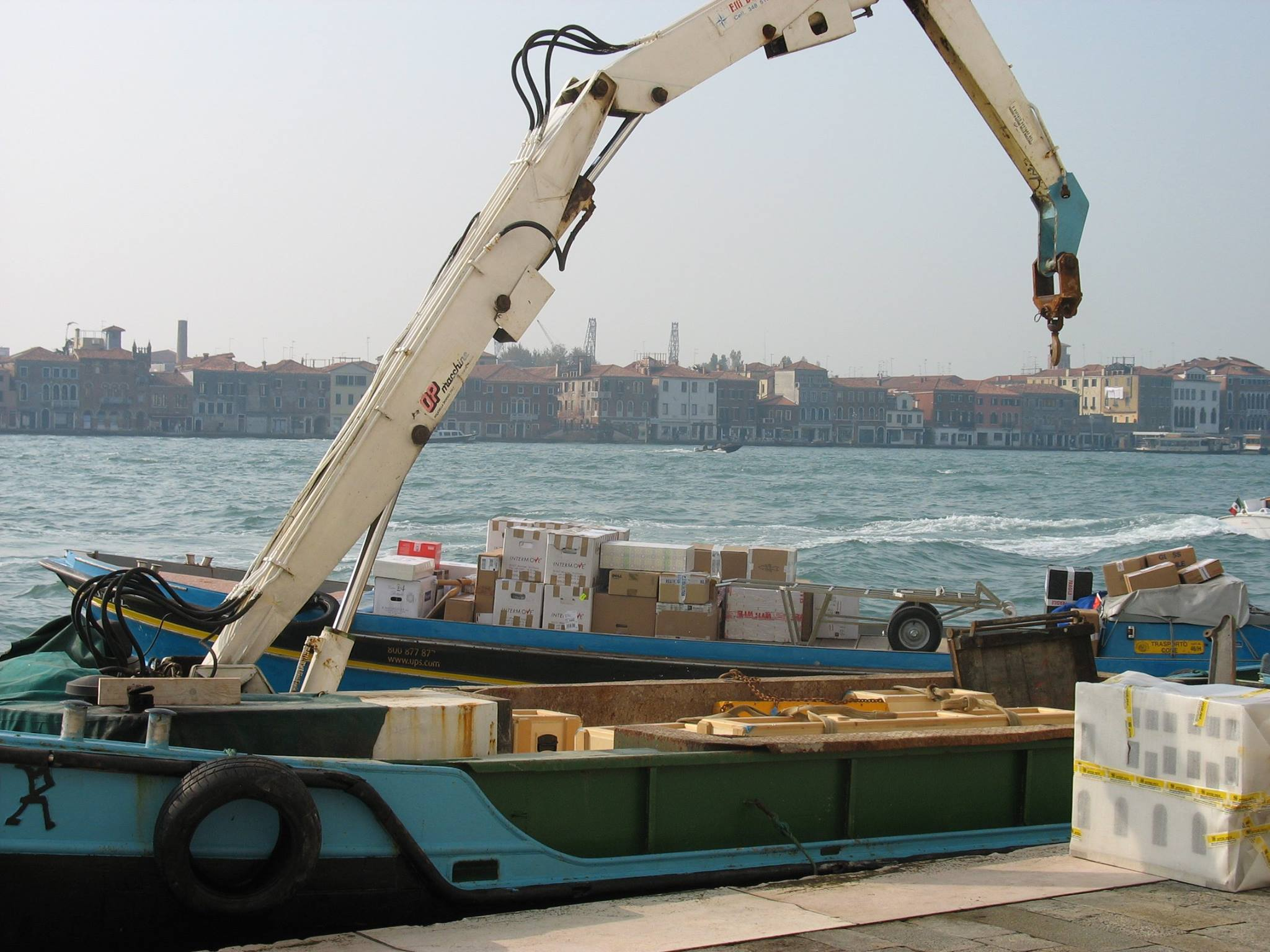 Deliveries in Venice