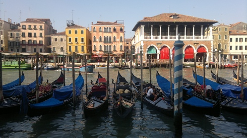 Venice Canals and Gondolas