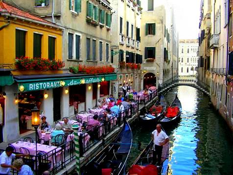 Restaurants Along Venice Beach