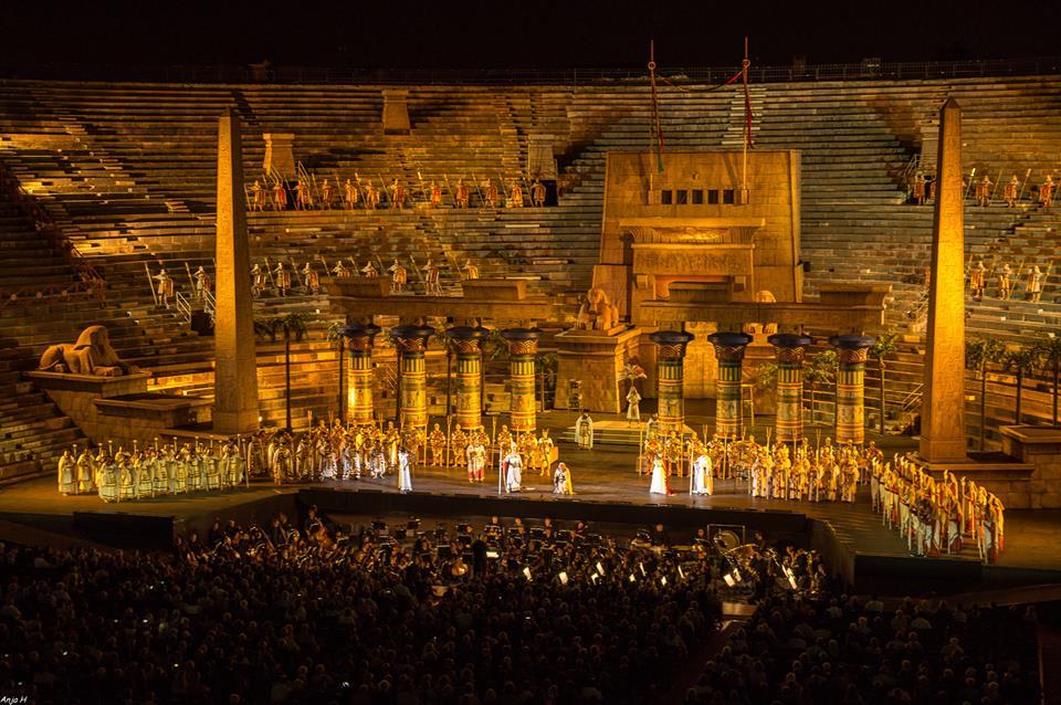 Verona Arena Evening Concert - photo by Anja