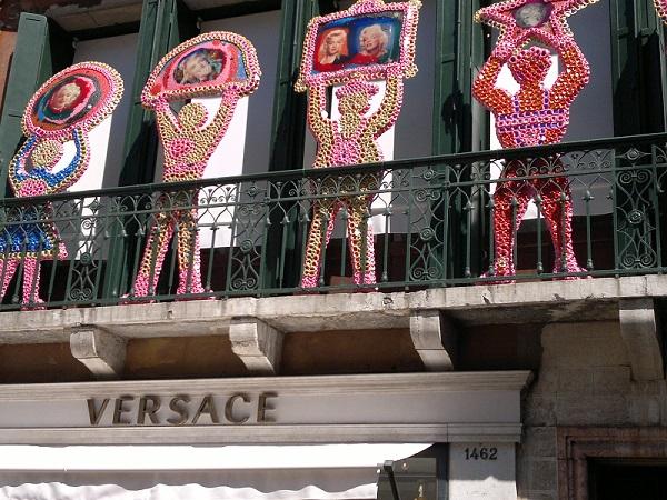 Versace Shop in Venice, Italy
