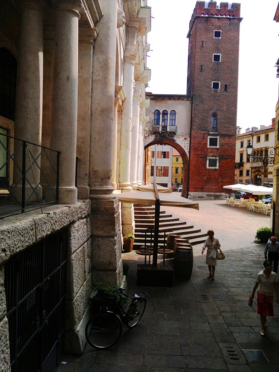 Streets in Vicenza