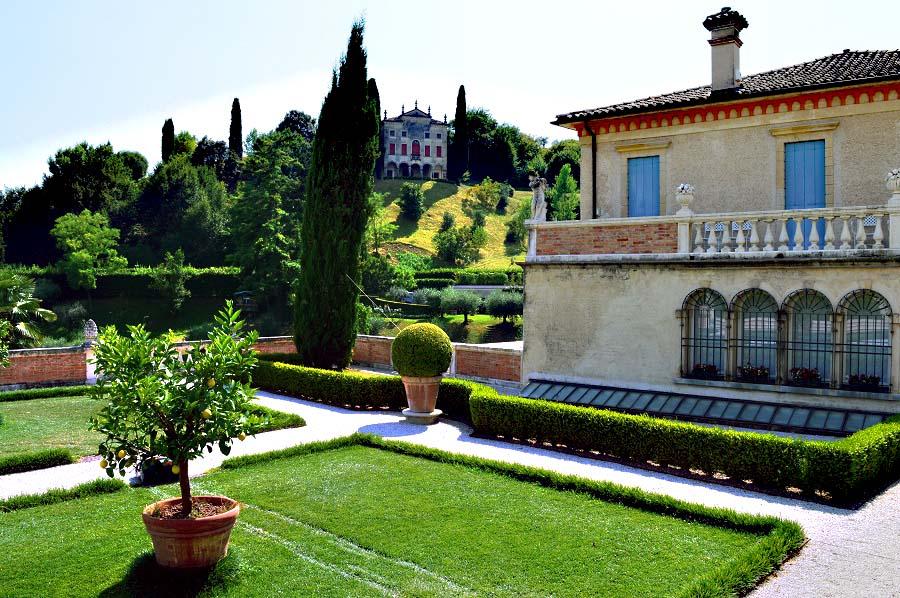 View of the Armenian Villa