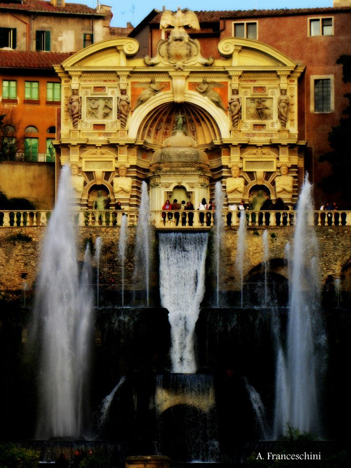 Fountains Villa d'Este Rome