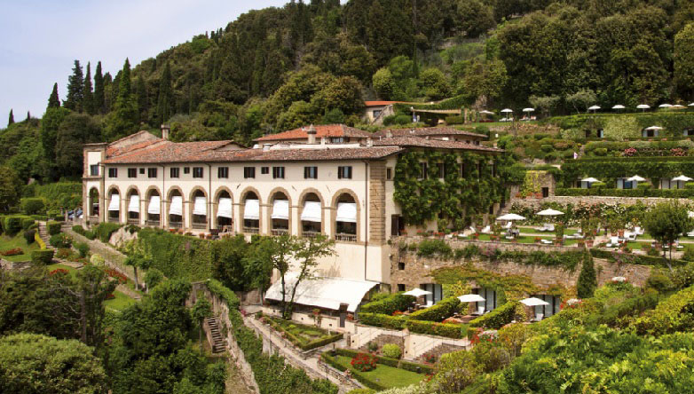 The Villa San Michele in Florence