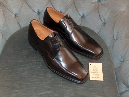 VRi44R-79 black Italian dress Shoe