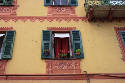 window on Liguria