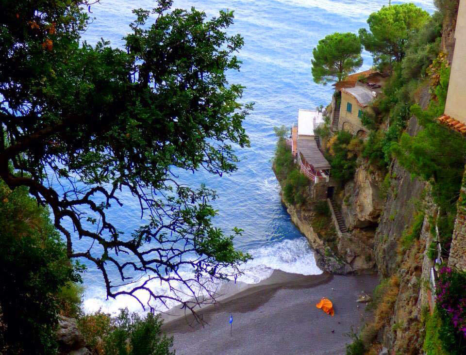 Beach near Positano