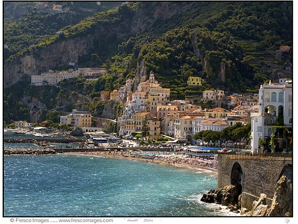 Amalfi Coast Towns by Doug Porter