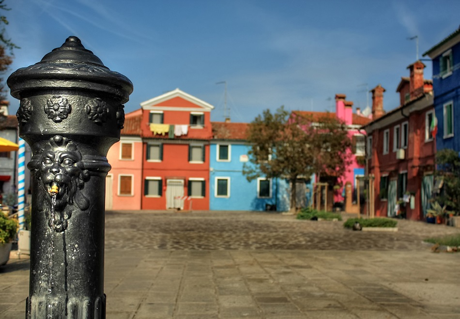 Burano Drinking Fountain
