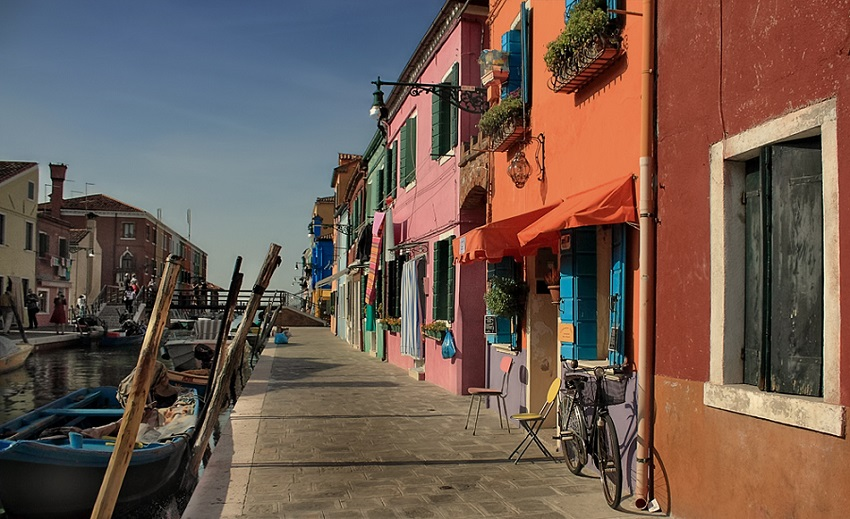 Burano Streets