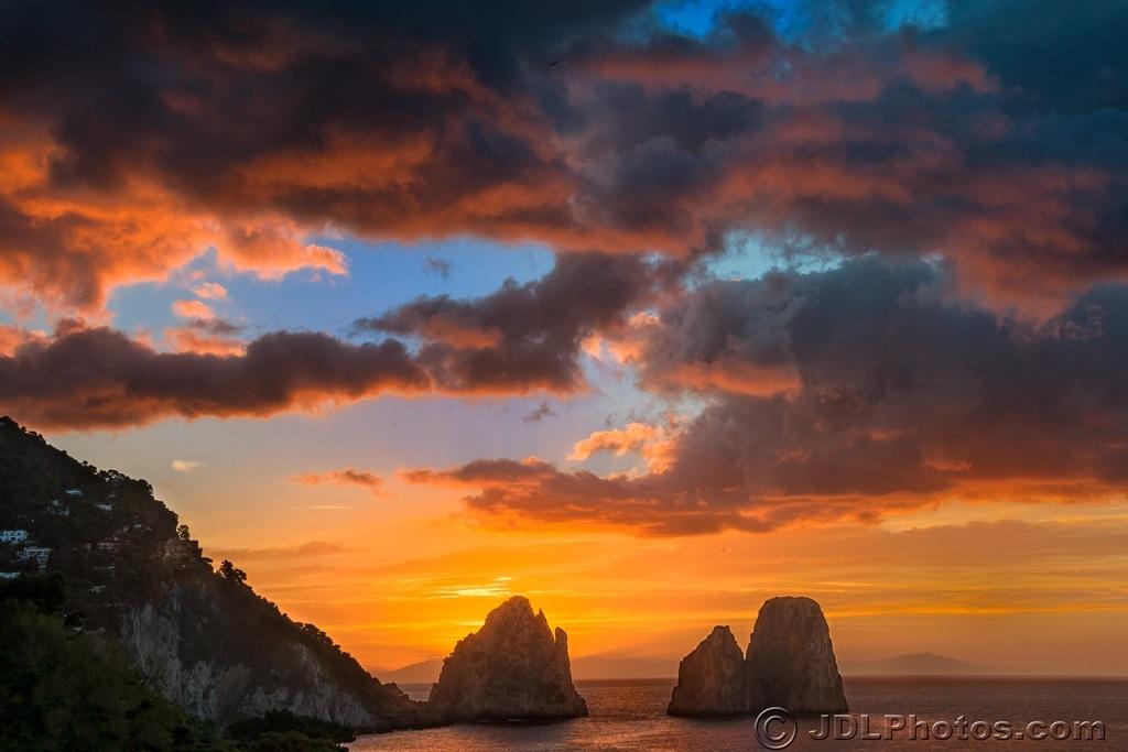 Sunrise over Amalfi DeLutes