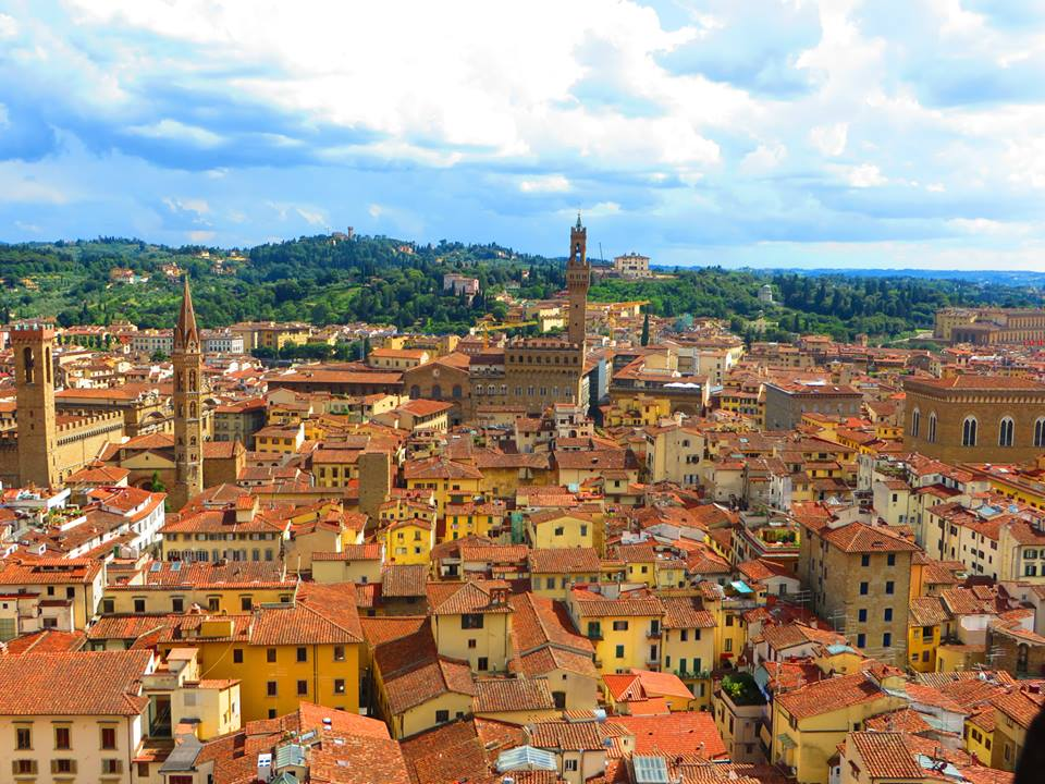 Florence, Italy from above