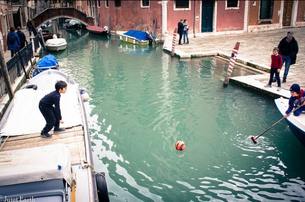 Ball in the Canal of Venice