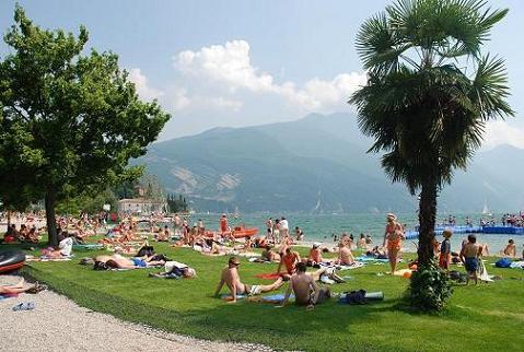 Lake Garda Beach