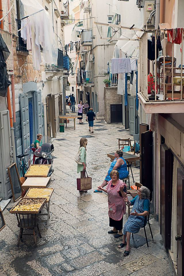 Street scene in Naples by Susan Papazian