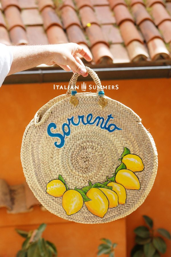 Italian straw bag
