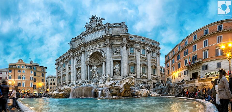 Trevi Fountain by Emanuele Serraino